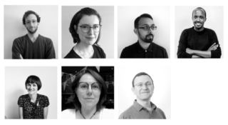7 headshots of the 7 new affiliates. 4 in the top row, 3 underneath
