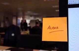 A sticky note, yesterday
